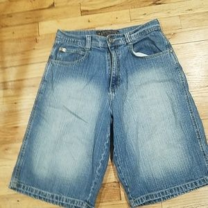 Mens southpole denim shorts 32
